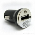 MINI-USB Car charger,iphone Car charger 2