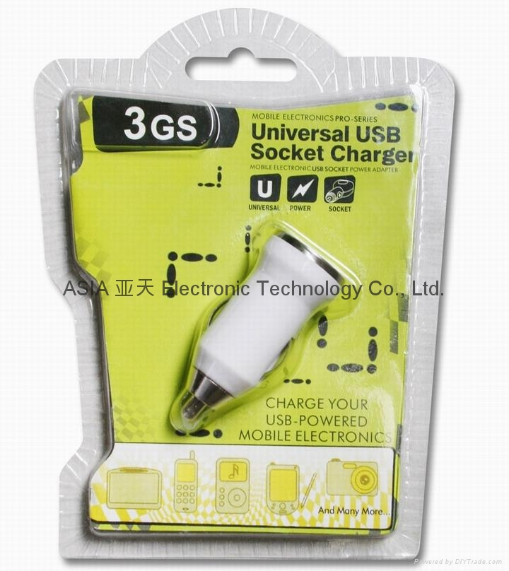 MINI-USB Car charger,iphone Car charger 5