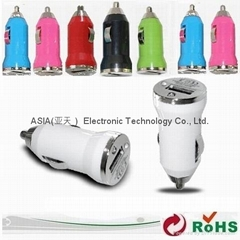 USB-MINI Car charger.iphone car charger