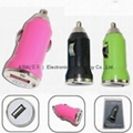 USB-MINI Car charger.iphone car charger 3