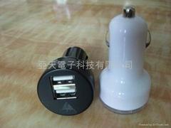 雙USB車載充電器