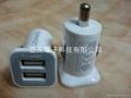 5V3A双USB车载充电器CE/FCC认证 2