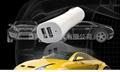 3.1A Car charger,ipad car charger,Dual usb car charger 5