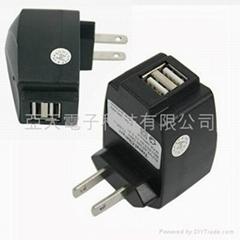 双USB充电器国际CEFCC认证