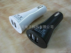 5V2100mAcarcharger for galaxy/ipad