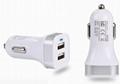 MINI双USB车载充电器 2