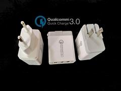 高通3.0手机快充、QC3.0快充/3个USB口带快充3.0