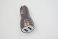 Broken window hammer usb car charger metal shell、2.4A car charger、CE/FCC 8