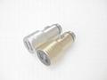 破窗錘車載USB車充金屬外殼、2.4a快速充電雙usb口車充、CE/FCC認証車充 3