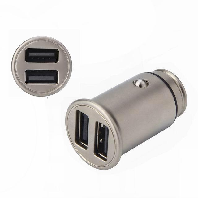 Small Metal Car Charger、4.8a Car Charger、Dual usb Car Charger  11