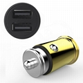 Small Metal Car Charger、4.8a Car Charger、Dual usb Car Charger  6