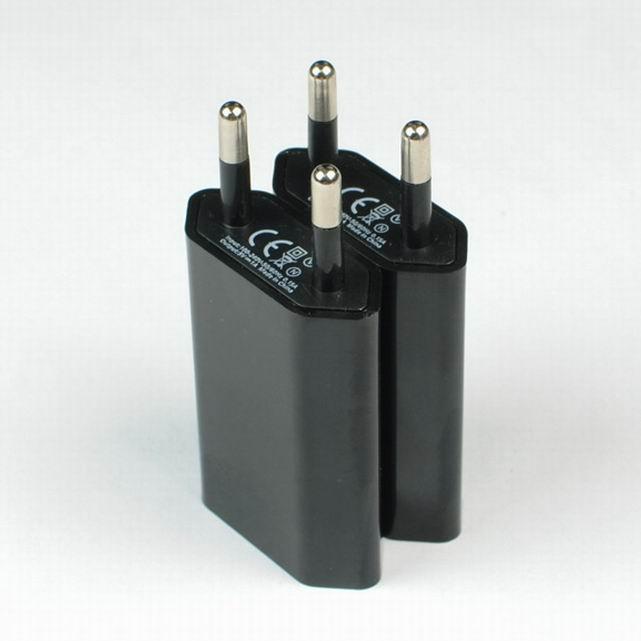 欧洲认证CE适配器1a、欧规适配器USB接口、欧洲插头充电器 2