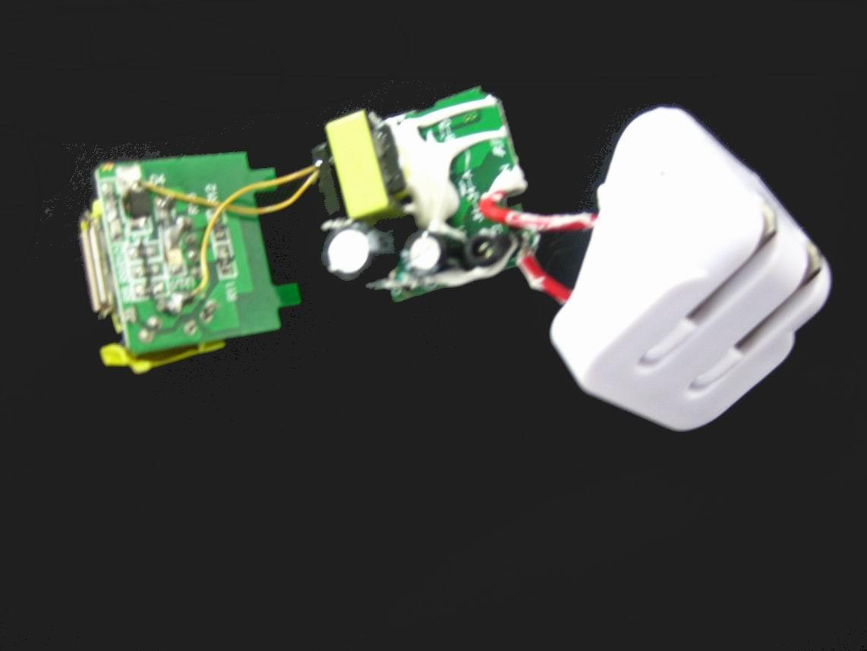 折疊插腳USB充電器UL認証5v1a手機充電器 美國UL手機適配器 6