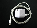 Folding pin USB charger 5v1a cell phone charger UL phone adapter ul charger 9