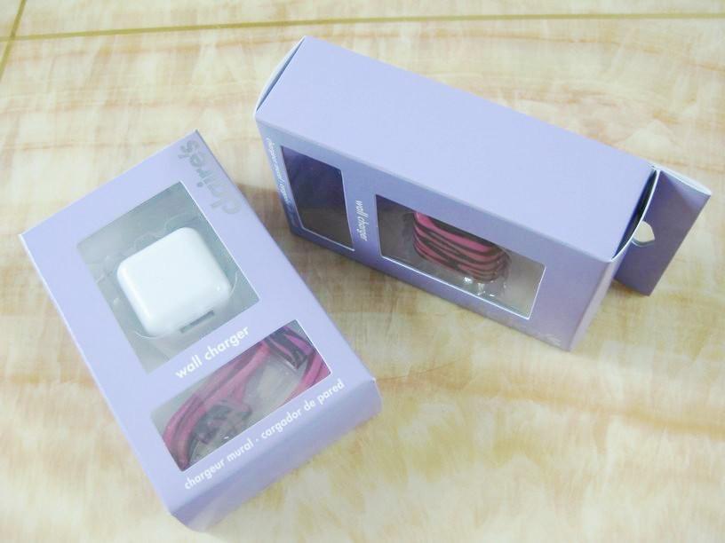 折疊插腳USB充電器UL認証5v1a手機充電器 美國UL手機適配器 11