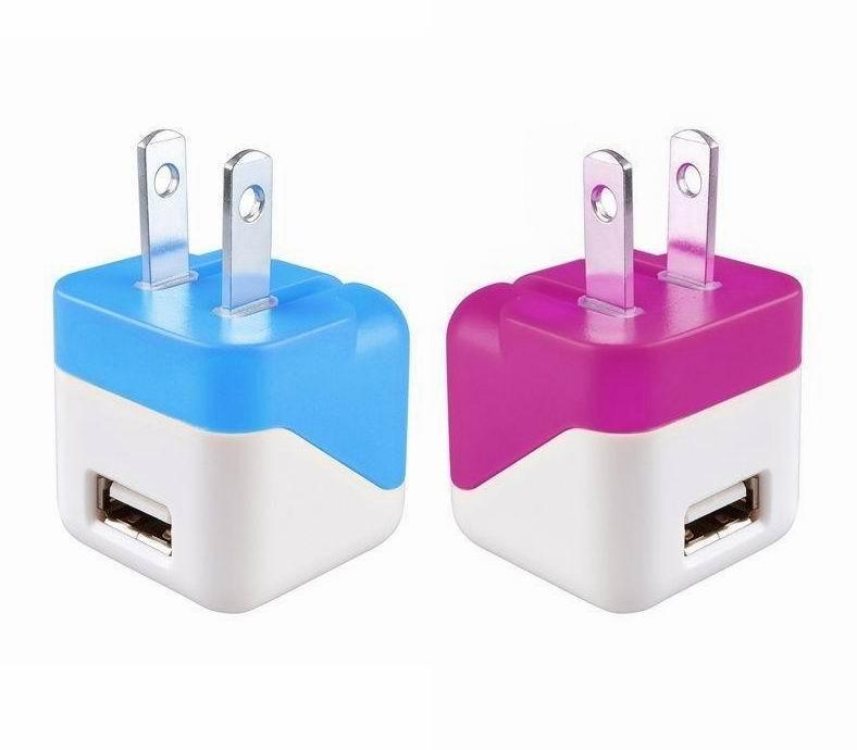 折叠插脚USB充电器UL认证5v1a手机充电器 美国UL手机适配器 13