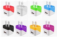 折疊插腳USB充電器UL認証5v1a手機充電器 美國UL手機適配器