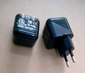 Folding pin USB charger 5v1a cell phone charger UL phone adapter ul charger 16