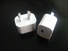 澳大利亚充电器 八字插脚USB充电器 澳规手机充电器