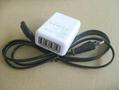 全球通旅行充电器QC3.0快充+4个USB接口旅行充 4