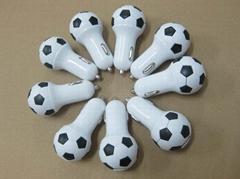 Football shape usb car c