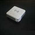 Qi无线充电宝带充电插头 多功