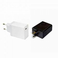 PD快充QC3.0快速充电器 30W大功率pd充电器 ETL认证pd快充