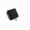 USB充電器帶充電寶 二合一多功能帶充電器移動電源 2
