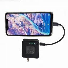 USB充电器带充电宝 二合一多功能带充电器移动电源
