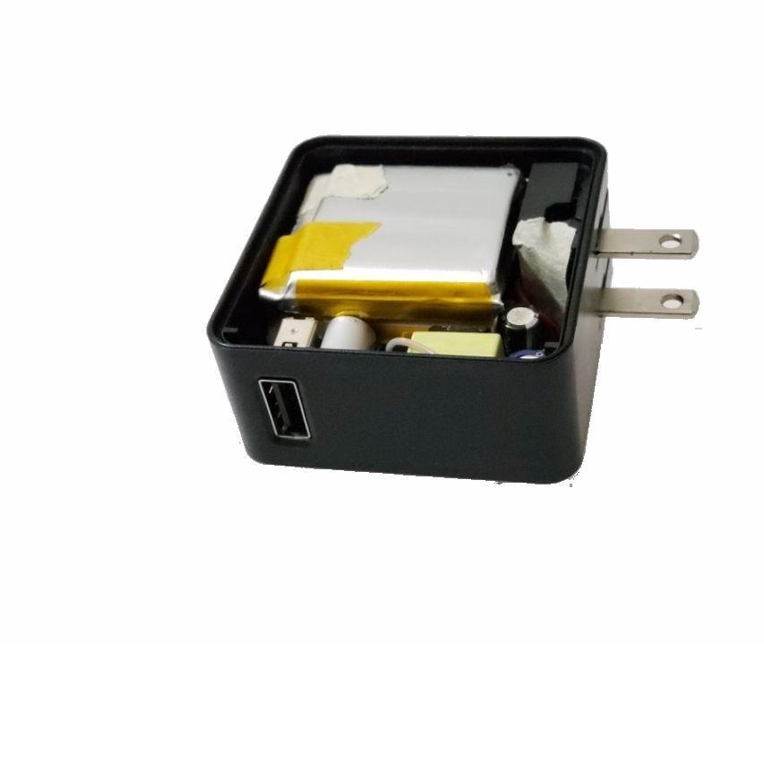 USB充电器带充电宝 二合一多功能带充电器移动电源 3