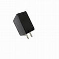USB充电器带充电宝 二合一多功能带充电器移动电源 5