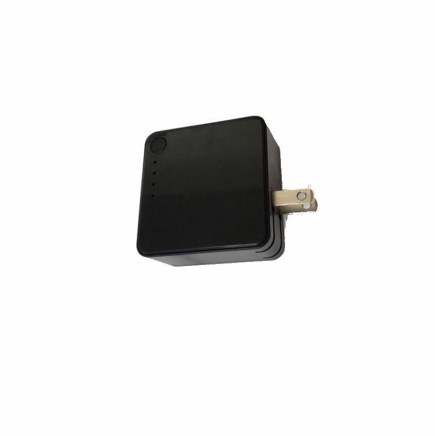USB充電器帶充電寶 二合一多功能帶充電器移動電源 9