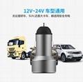 Display car charger 2-port USB 5v3.1a car digital display car charger 8