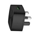 qc3.0英规充电器 英式充电器 出口英国新加坡马来西亚 3