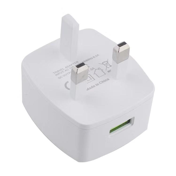 qc3.0英规充电器 英式充电器 出口英国新加坡马来西亚 11