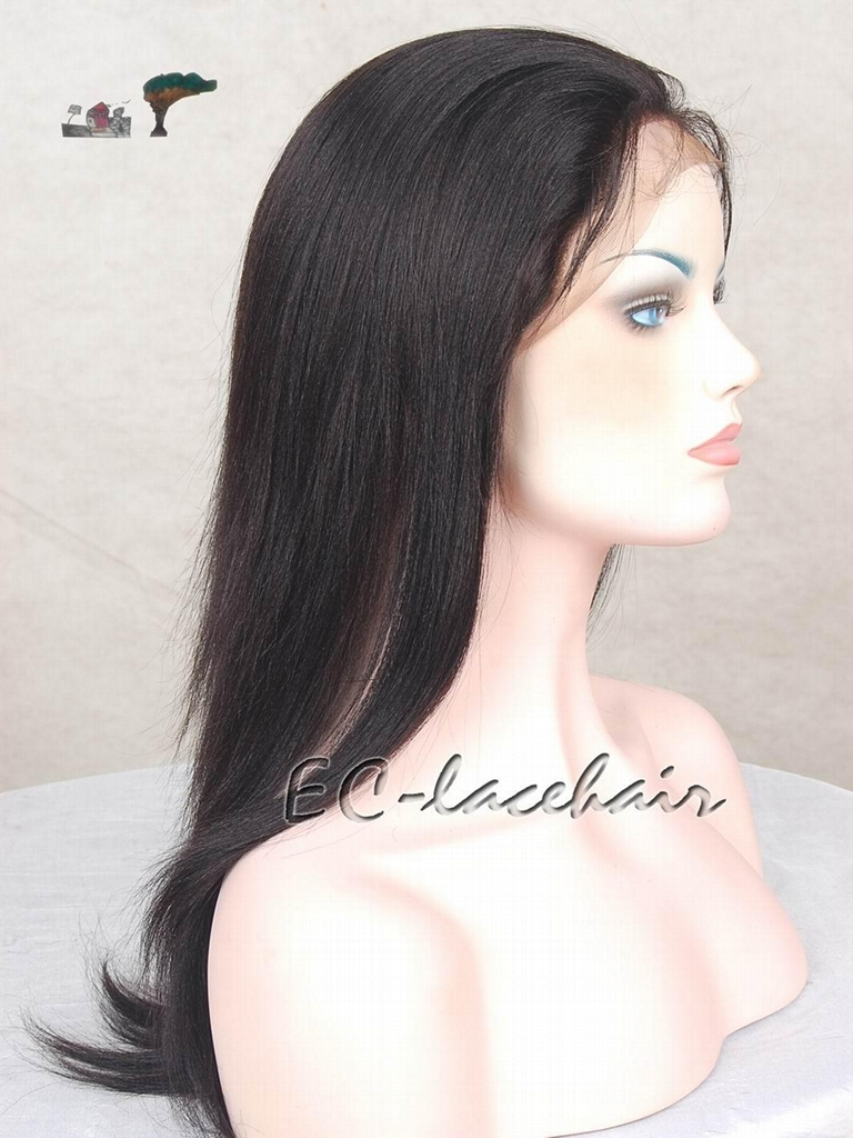 High Quality Kinky Curly Human Hair Lace Wigs Manufacturer 2