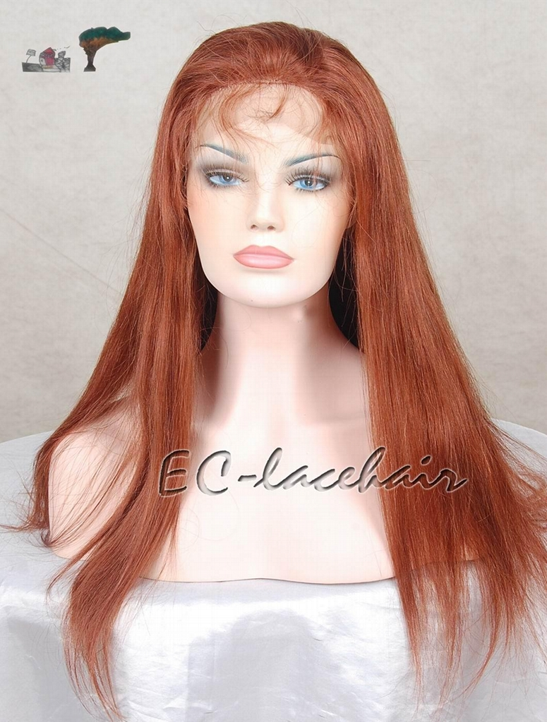 High Quality Human Hair Front Lace Wig 1