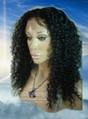 High Quality Kinky Curly Human Hair Lace