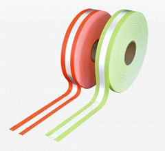 Double-color  Reflective Flame Retardant Tape