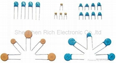 High Voltage Ceramic disc Capacitor (DC 50V~15KV)