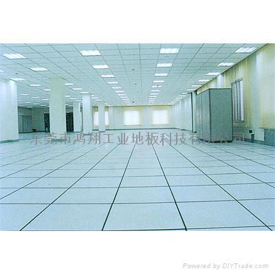 精密產品車間防靜電PVC地板 1