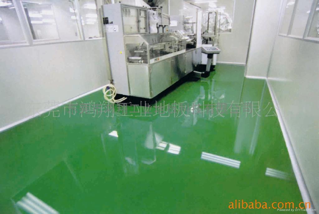 精密產品車間防靜電PVC地板 4