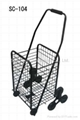 SC-104  Folding Shopping Cart