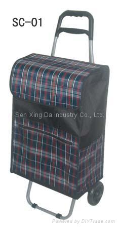 SC-01 Shopping Cart with Bag