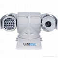 Infrared Day / Night Vision PTZ camera