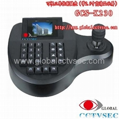 3D Keyboard Controller for PTZ cameras