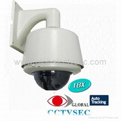 Auto Tracking PTZ Speed Dome Camera