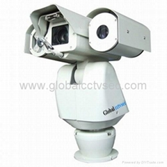 Laser & IR Integrated high speed PTZ Camera GCS-LTZ400