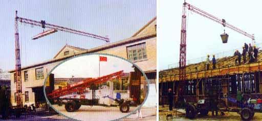液压吊,起重吊机,起重吊装机,专业吊车,农用吊车,农村建筑塔吊,农村图片