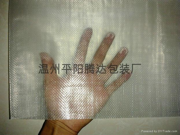 紙箱專用透明編織袋 1